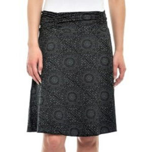 NWT SOYBU Faux Wrap Active Skirt